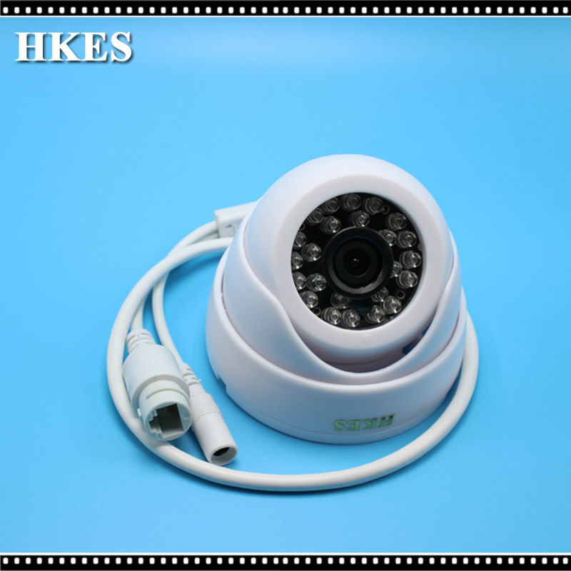 HKES HD IP Kamera 960 P Gözetleme Kapalı Dome Mini Kamera 1.3MP Onvif 2.0 P2P NVSIP Android iPhone Görünümü