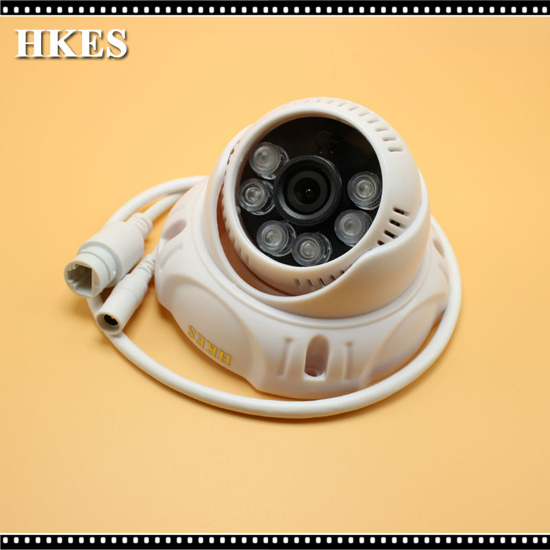 HKES IP Kamera Mini Tip HD 1280x960 P 1.3MP 3.6mm Lens Kapalı Güvenlik Kamera CCTV Kam